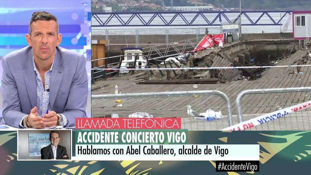 """Abel Caballero, Alcalde de Vigo: """"Se va a hacer una investigación para determinar qué ha sucedido"""""""