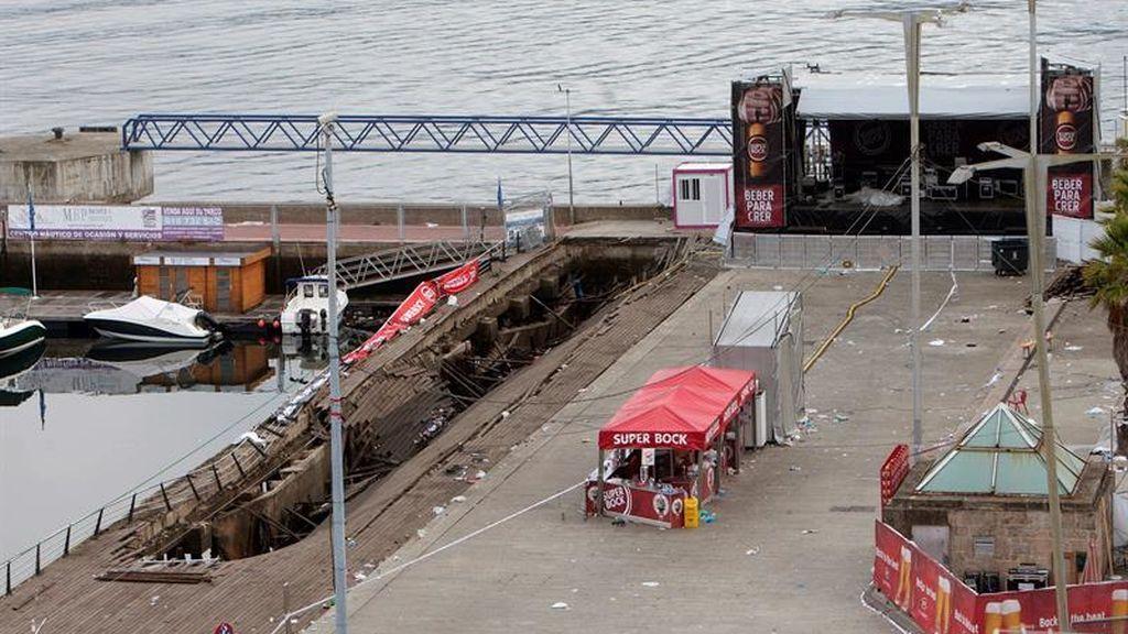 Incidente en Vigo durante un concierto