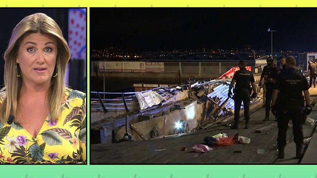 """Carlota Corredera, tras el accidente en Vigo: """"Espero que los políticos estén a la altura y se averigüe la verdad"""""""