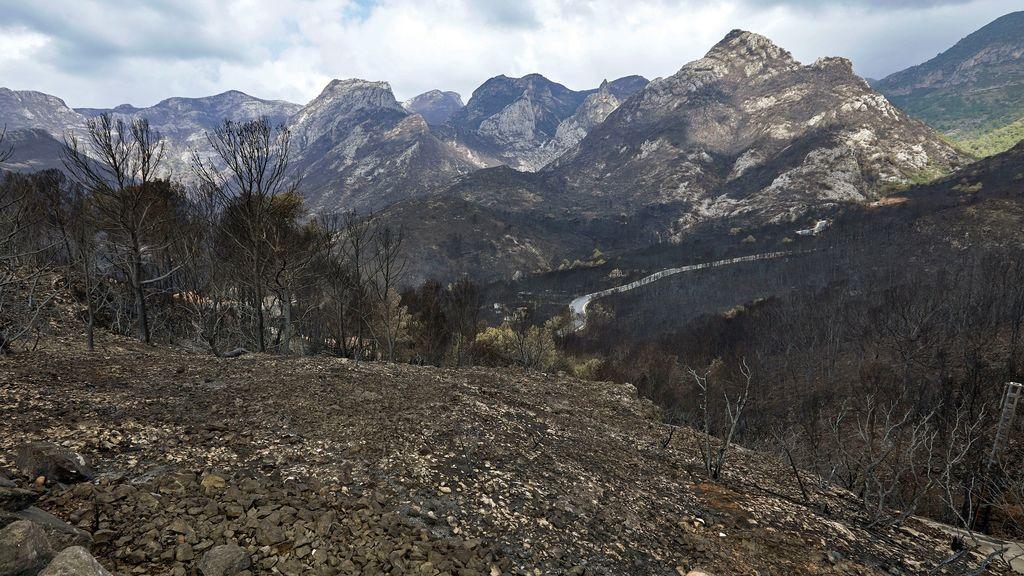 Extinguido el incendio de Llutxent tras arrasar más de 3.200 hectáreas en una semana