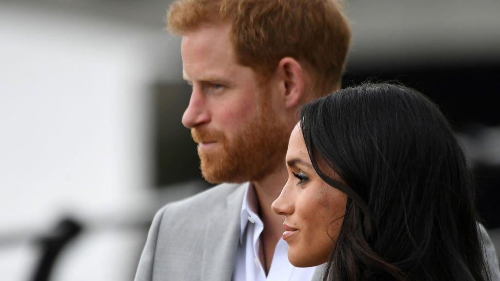 El Príncipe Harry y Meghan Markle en julio de 2018.