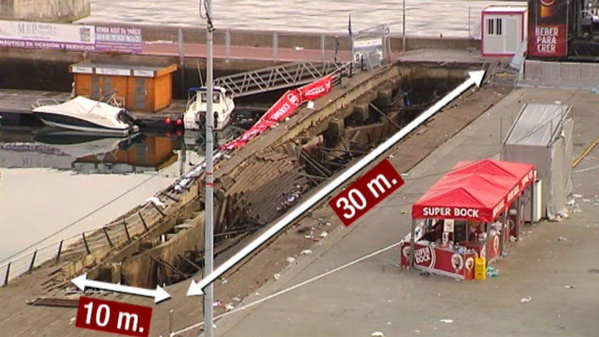 Accidente en el festival O Marisquiño: 377 personas atendidas y siete ingresadas en el hospital