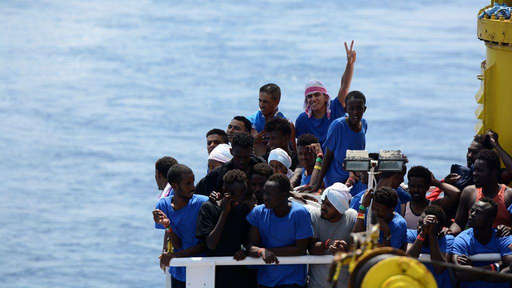 El puerto galo de Sète-Frontignan se ofrece a acoger a los migrantes rescatados por el Aquarius