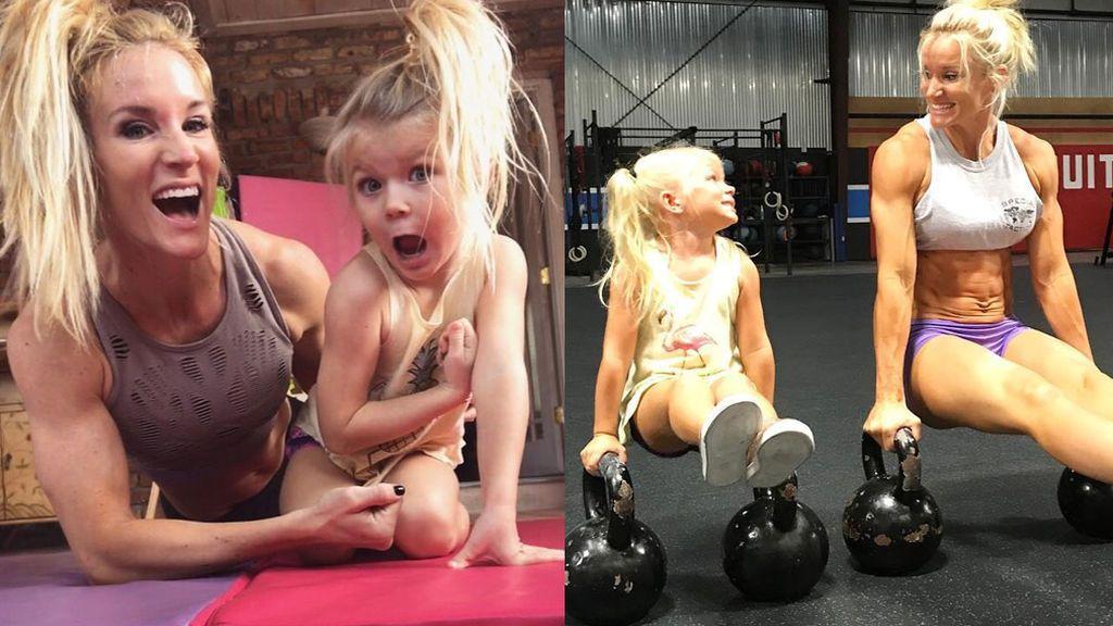 Brodie Bowen, la niña fitness de cinco años que ha conquista las redes sociales