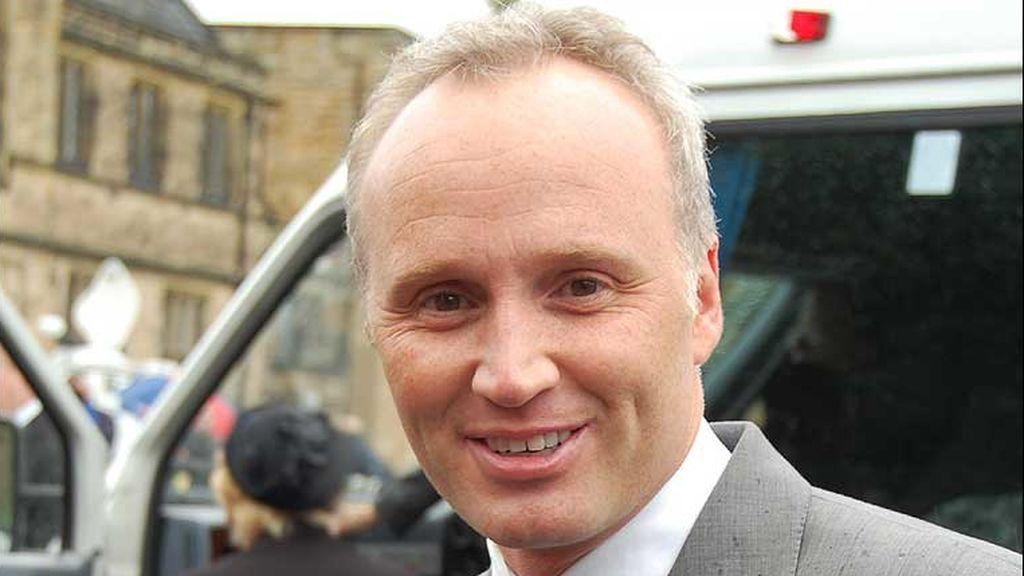 El presentador de televisión especializado en fútbol Joe Morrison.