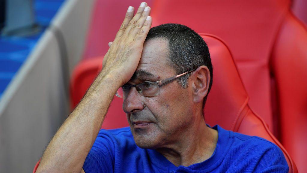 El truco de Maurizio Sarri para paliar su vicio por el tabaco en los partidos del Chelsea