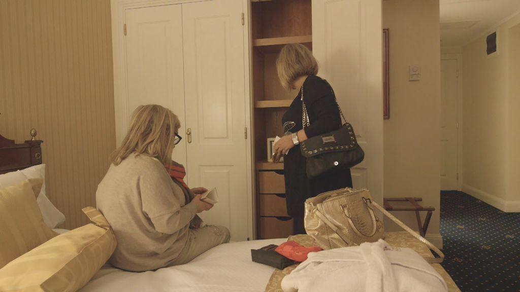 ¡Jamás imaginarías para qué quiere Carmen Borrego la caja fuerte del hotel!
