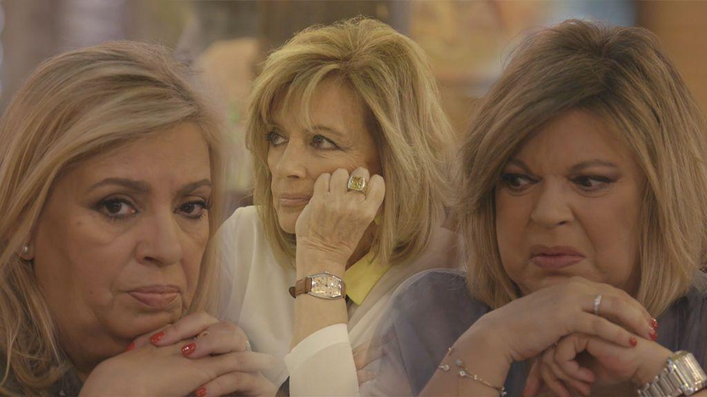 ¡El clan de Las Campos a punto de romperse! Tensión máxima entre Mª Teresa, Carmen y Terelu