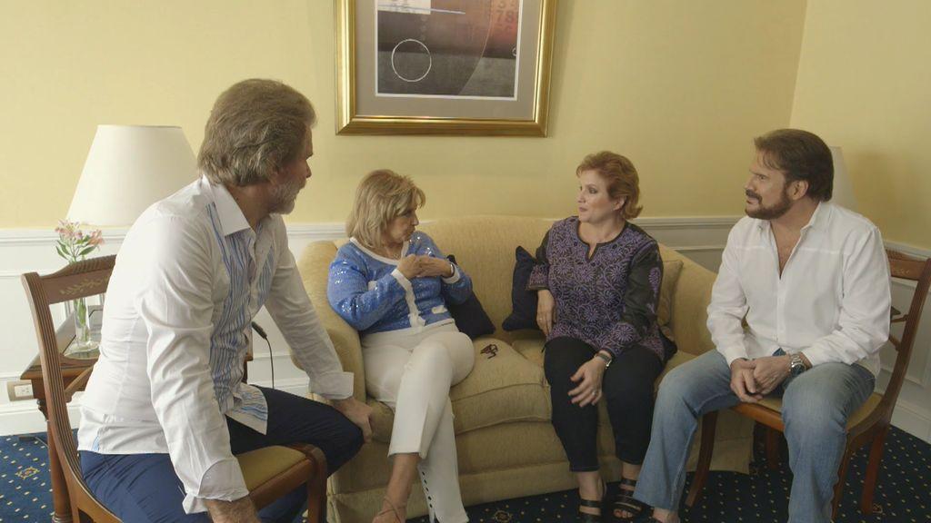 ¡Sorpresa en Buenos Aires! Pimpinela hace una visita a Mª Teresa y Edmundo