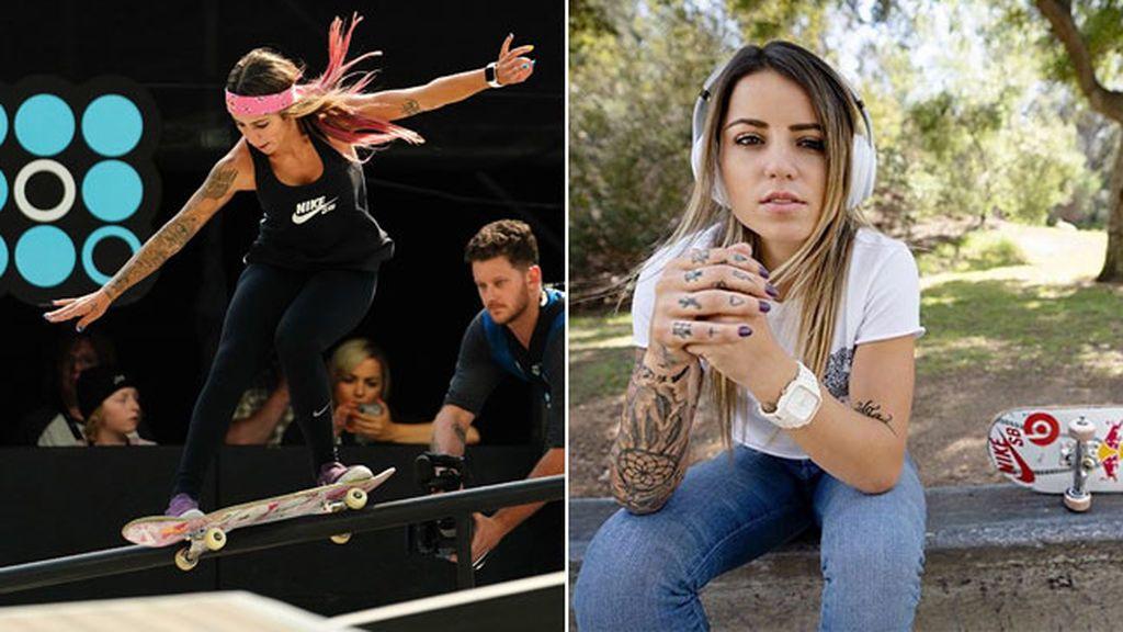 Leticia Bufoni, La skater más fomosa del mundo ha visitado España y nos ha dejado trucos como estos...