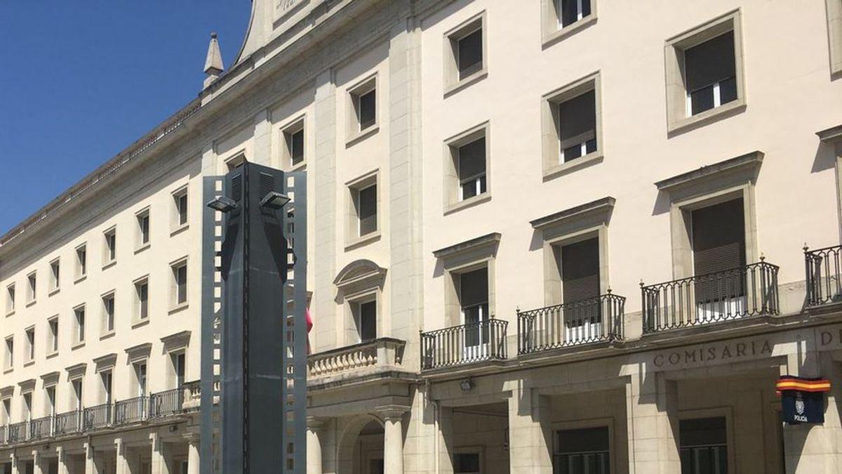 Un ladrón escapa de la Policía en Vitoria al saltar a la calle desde un segundo piso