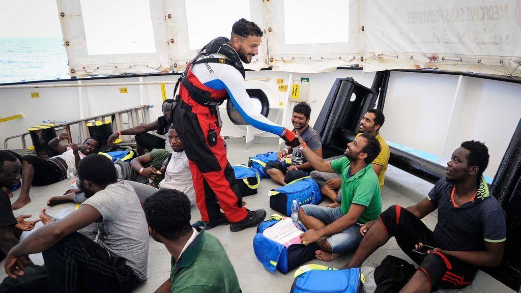 Los integrantes de Aquarius encuentran refugio en Malta