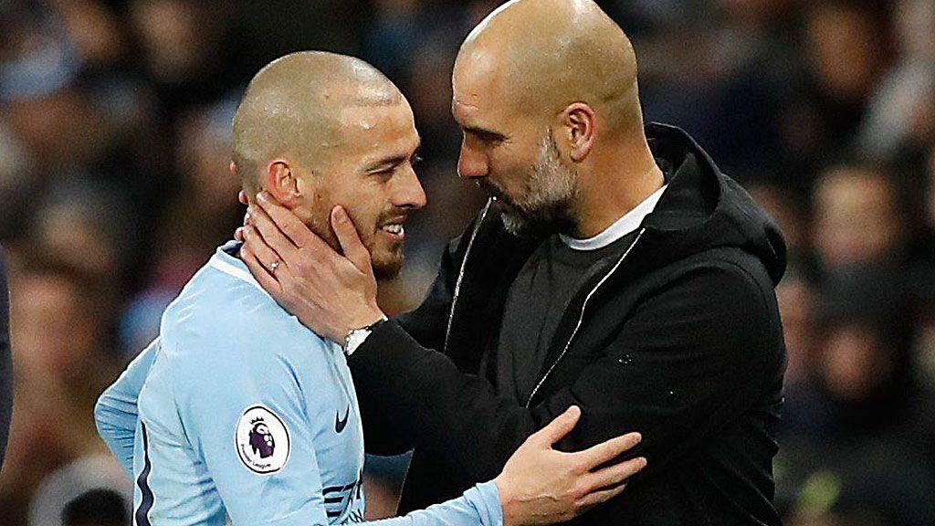 Silva y su emotivo mensaje a Guardiola y sus compañeros en el City tras su año más difícil por el nacimiento prematuro de su hijo Mateo