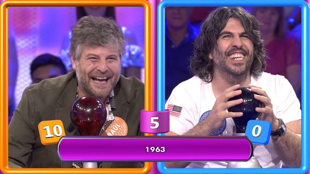 El show de Vaquero y Raúl Cimas: ¡ninguno puede aguantar la risa cuando habla el otro!