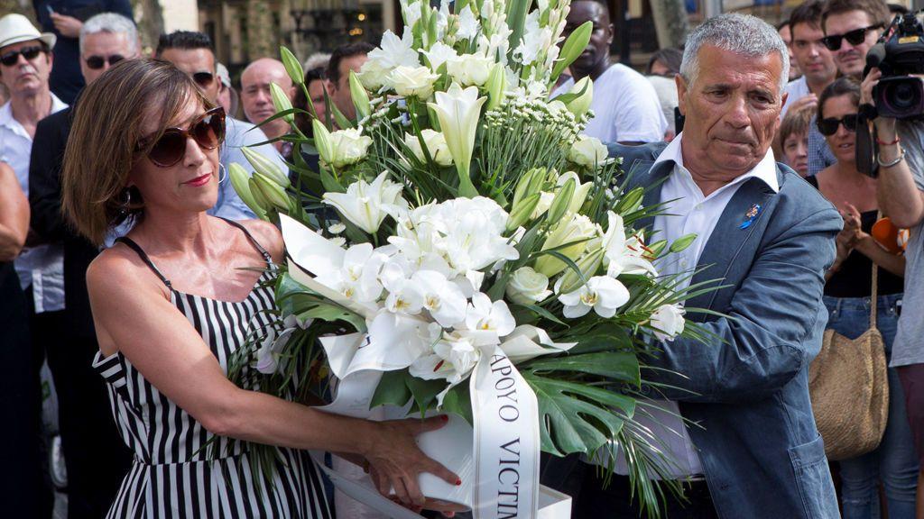 El presidente de la asociación catalana de Victimas de Organizaciones Terroristas, Jose Vargas