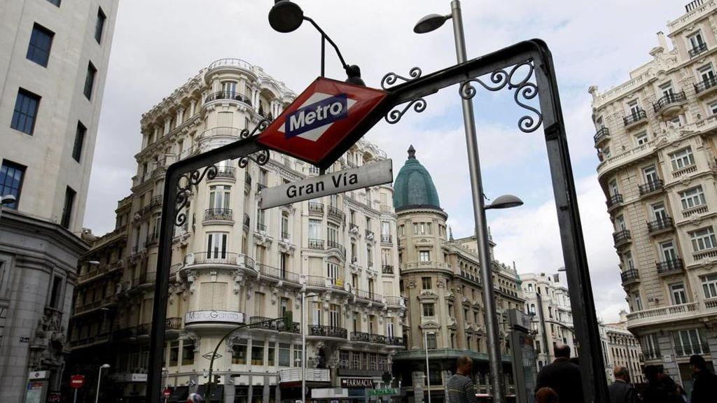 La estación de metro de Gran Vía