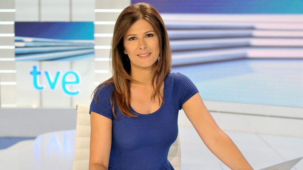 Lara Siscar, presentadora de RTVE.