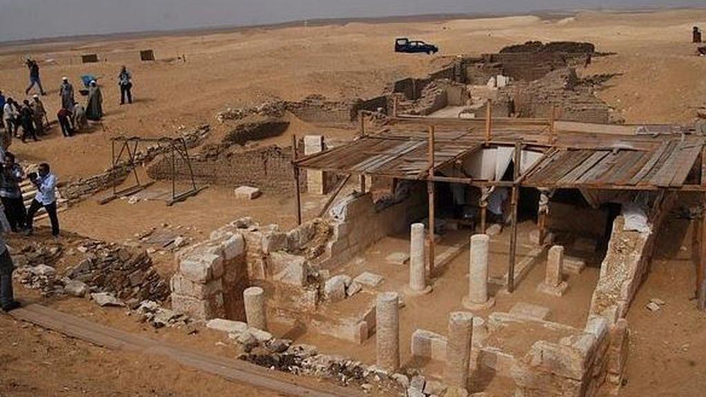 En la tumba de Pthames se ha encontrado el queso más antiguo del mundo
