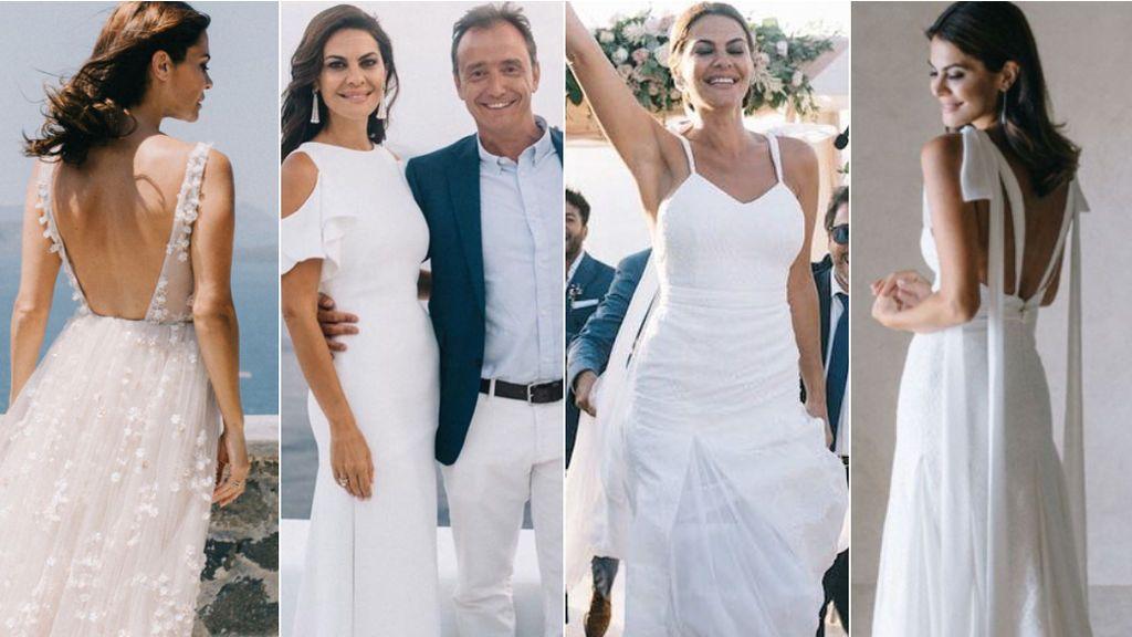 Cinco vestidos para tres días de ensueño: vota tu diseño favorito de la boda de María José Suárez
