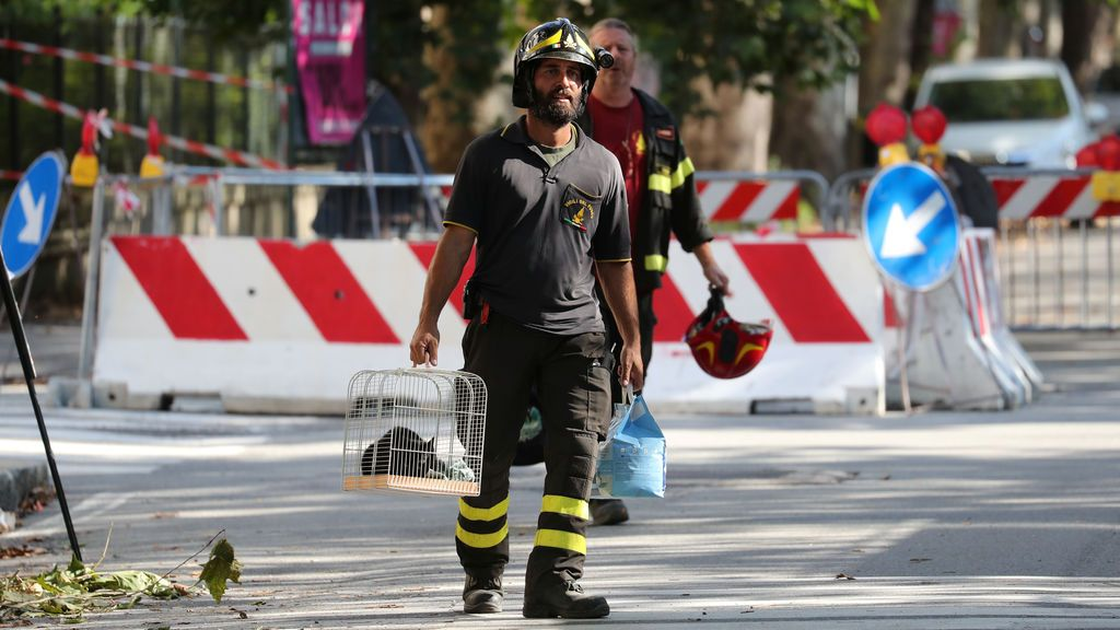 Dos días después del incidente en Génova
