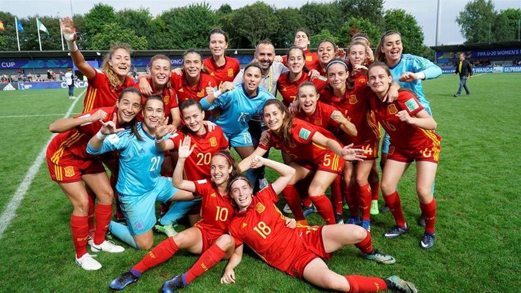 España, a la semifinal del mundial de Fútbol femenino sub-20