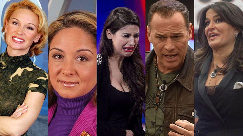 Los 'malos malísimos' de 'GH VIP': ¿Quién es el concursante más malvado? ¡Vota!