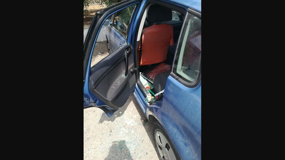 bebe encerrado coche murcia guardia civil auxilia madre