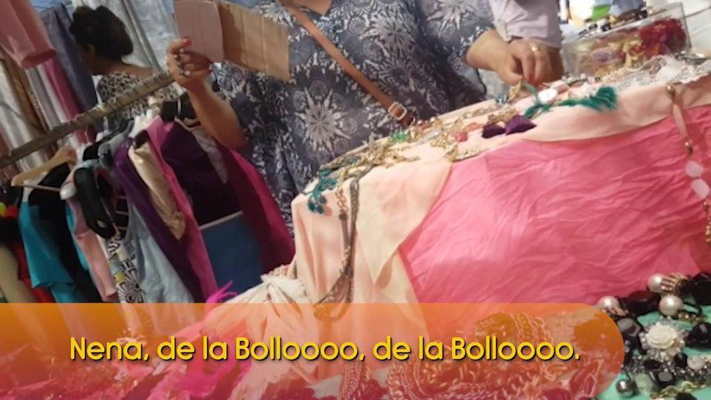 Los colaboradores alucinan: La ropa de Raquel Bollo ahora se vende… ¡En el mercadillo!