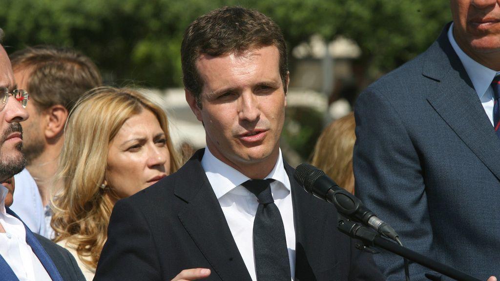 pablo casado exige generalitat amenazas instituciones partido popular