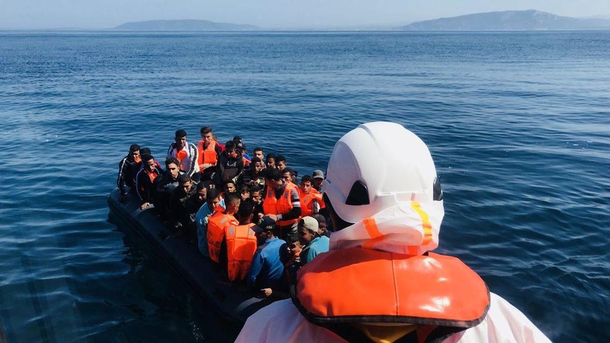 Más de la mitad de los franceses, en contra de acoger a los migrantes del Mediterráneo
