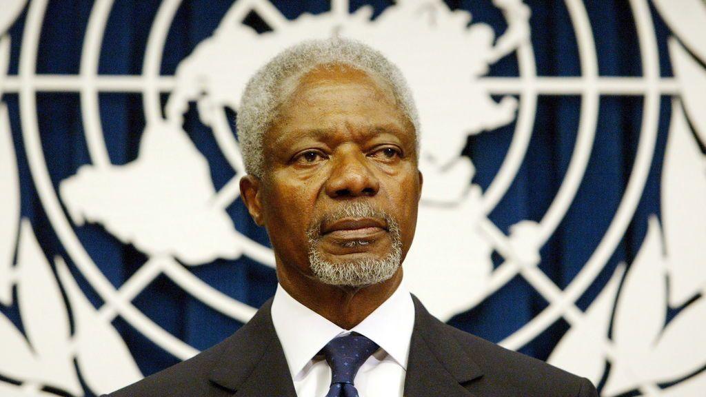 Fallece a los 80 años Kofi Annan, ex secretario general de la ONU y Nobel de la Paz