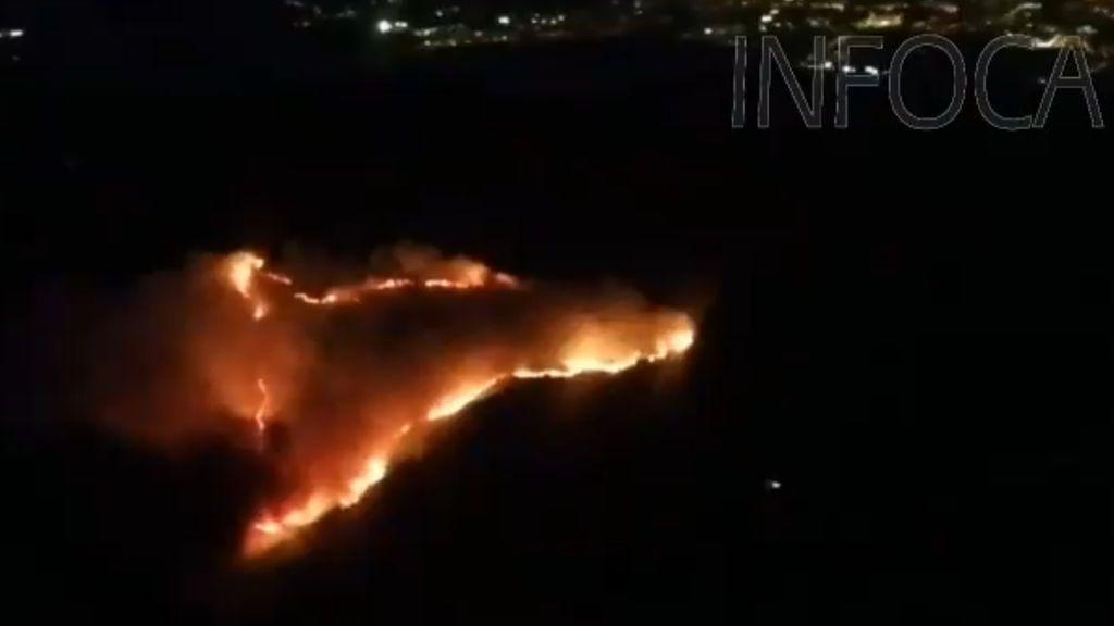 Incendio en Tarifa