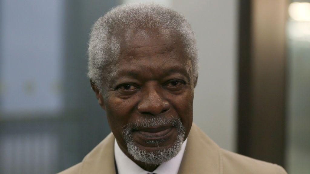 Los líderes internacionales recuerdan al exsecretario general de la ONU Kofi Annan