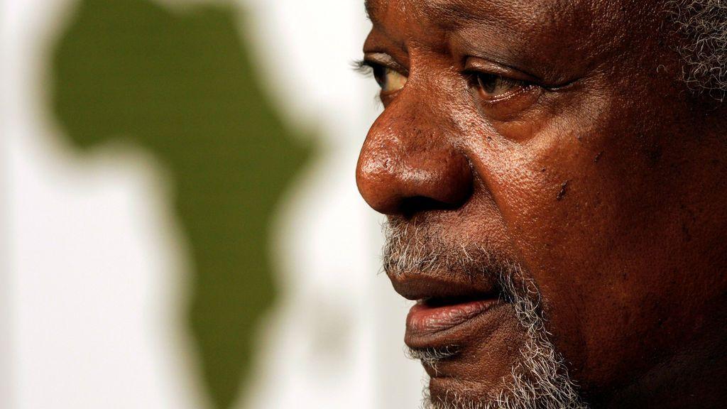 """Lloran la muerte de Kofi Annan, """"una fuerza para el bien"""""""