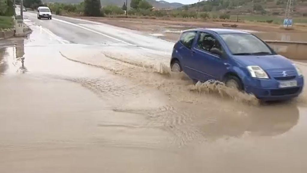 Dénia y Xàbia inundadas por las lluvias torrenciales