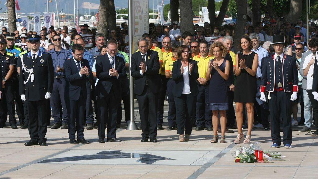 Primer aniversario del 17-A:  Cambrils rinde homenaje a las víctimas