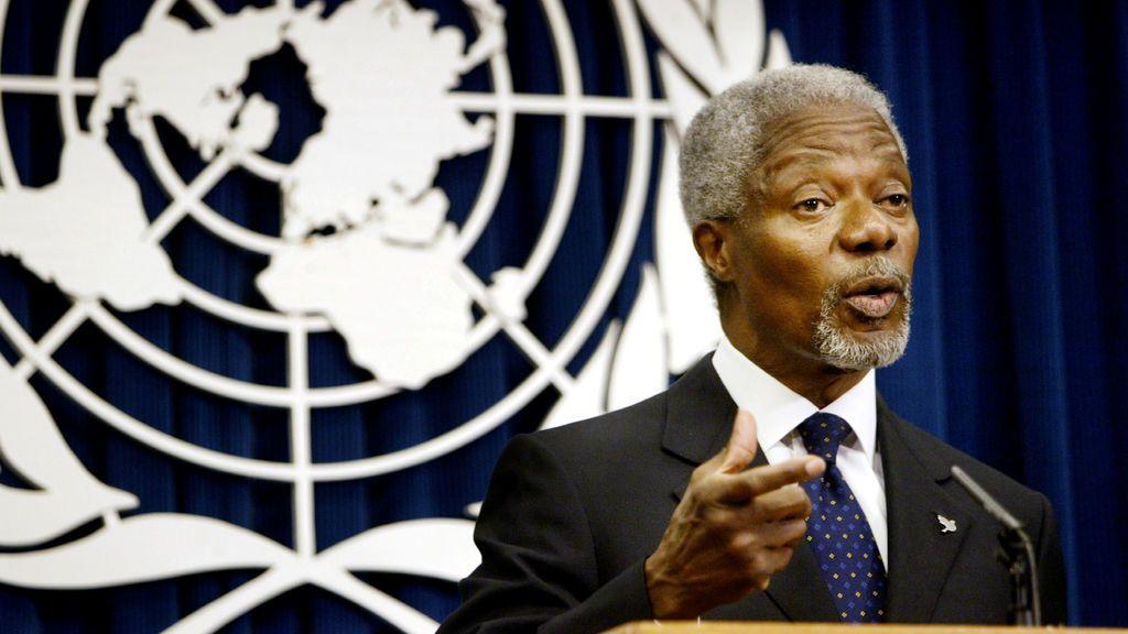 Las frases más famosas de Kofi Anan en la ONU