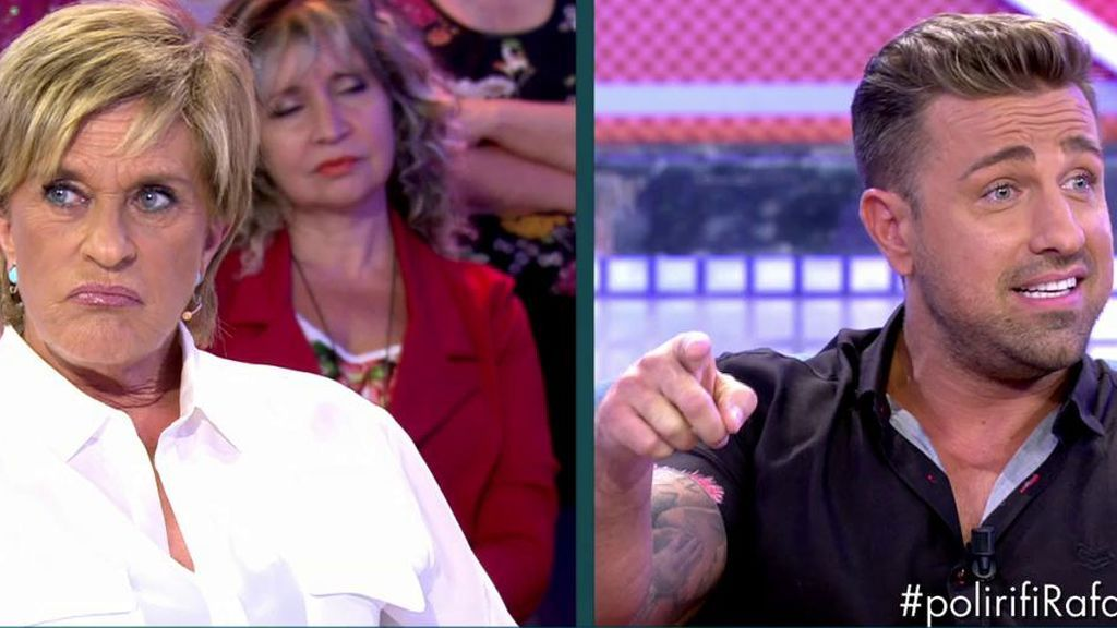 Rafa Mora da el nombre de la persona que le dijo que Chelo estuvo enamorada de Isabel Pantoja