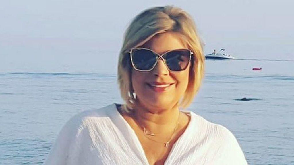 """Terelu Campos,sorprendida en Málaga con una visita de un compañero: """"Estaremos ahí"""""""