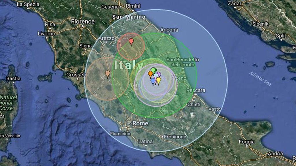 La actividad sísmica continúa en Italia: nuevo terremoto de 3,4 en Umbría