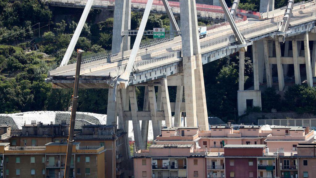 Ascienden a 43 el número de víctimas mortales en Génova tras morir uno de los heridos graves