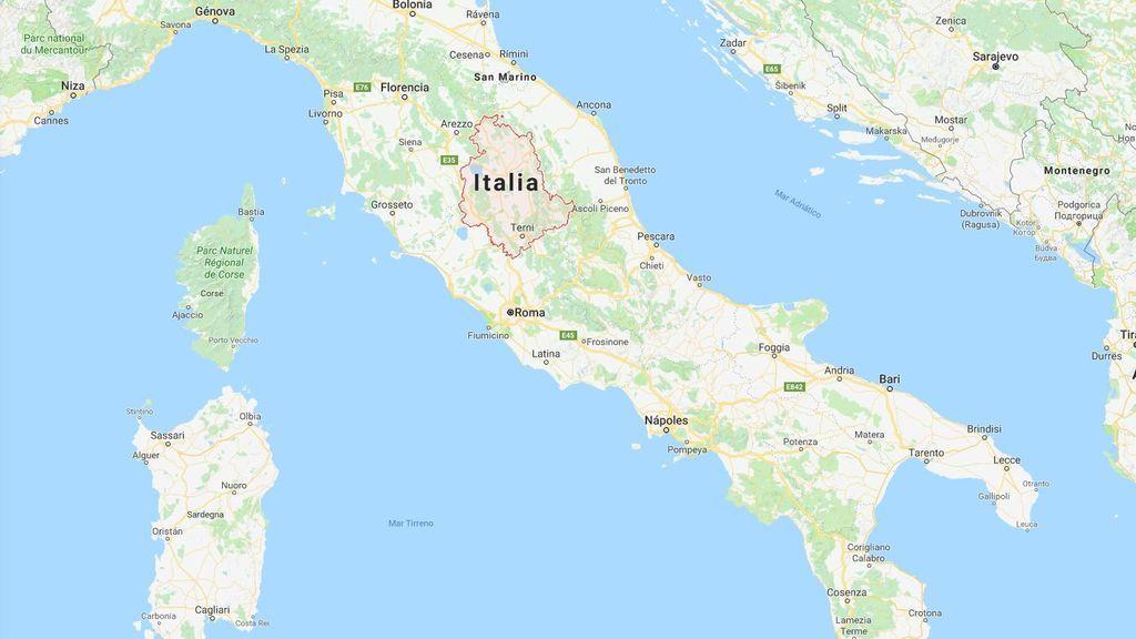 Un terremoto de magnitud 3,4 sacude Umbría (Italia)