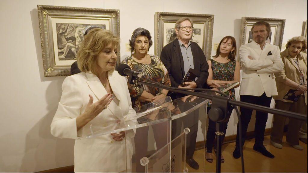 María Teresa visita una exposición pictórica de Picasso en 'Las Campos', el martes 21 de agosto en Telecinco (22.00).