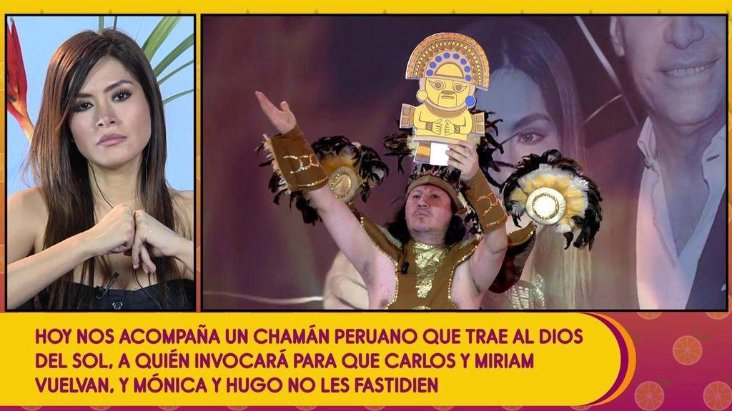 ¡Un chamán peruano realiza un ritual para que Miriam y Carlos vuelvan a retomar su relación!