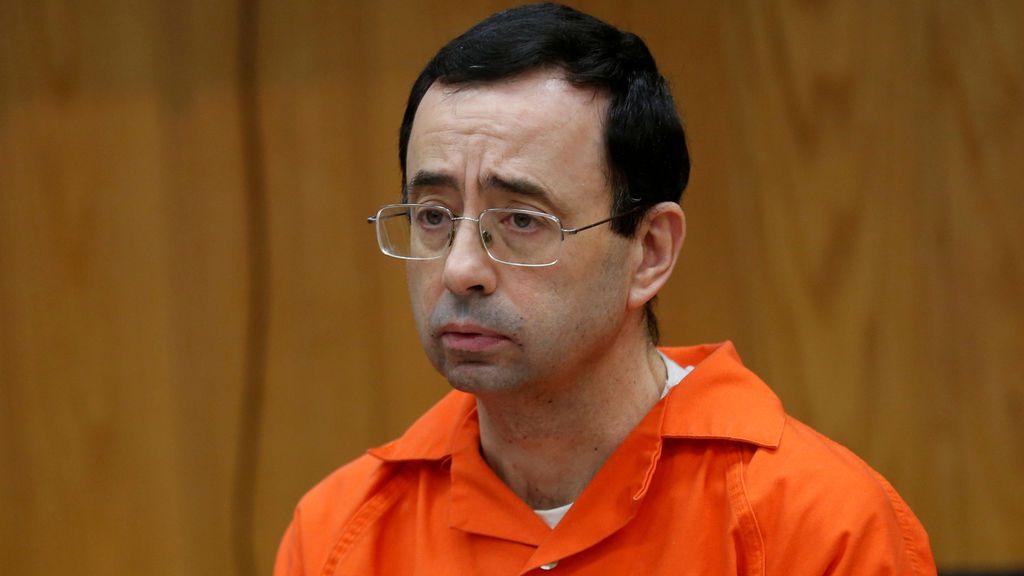 Larry Nassar, el médico acusado de abusar de las gimnastas olímpicas de Estados Unidos.