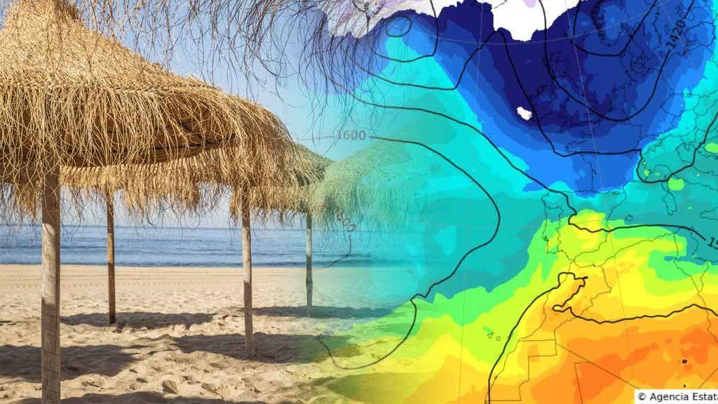 El 'socavón térmico': ¿hasta cuándo va a hacer este sol?