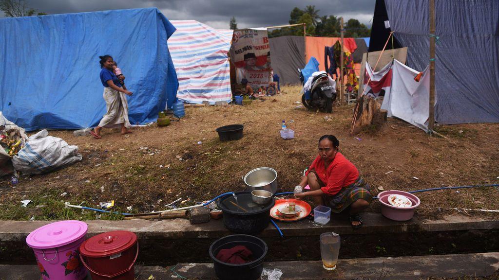 Aumentan  a 10 las victimas del terremoto de Lombok