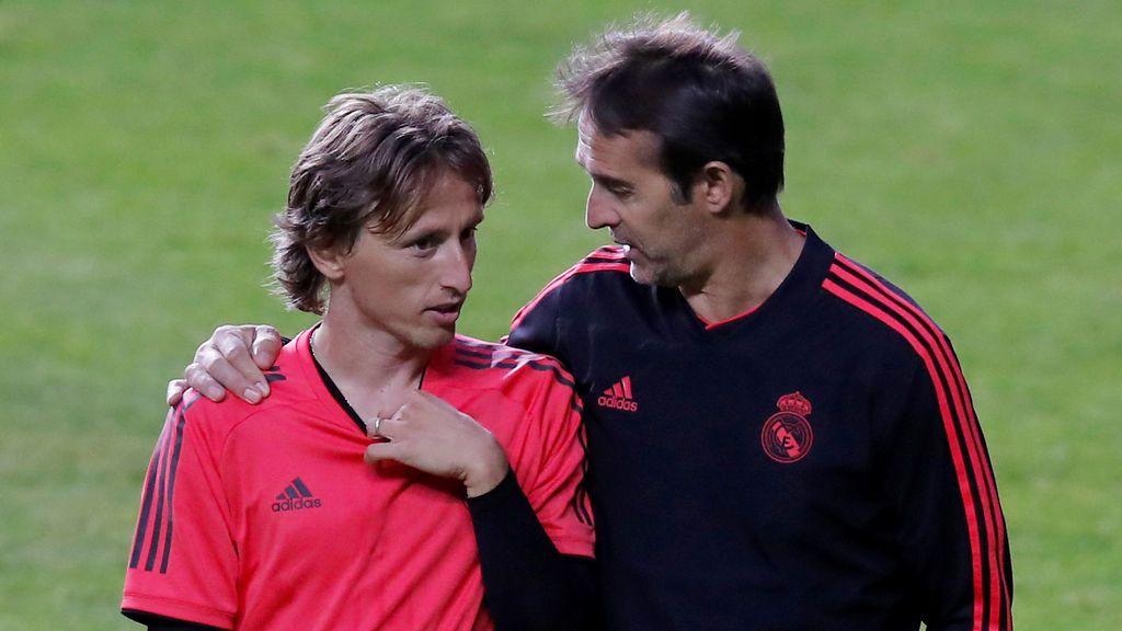 """""""Es la mayor tontería de la historia"""", Modric niega en Instagram haber contactado con el Inter"""