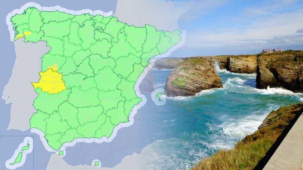 36ºC a la sombra en Pontevedra y Ourense: Galicia en avisos amarillo por altas temperaturas