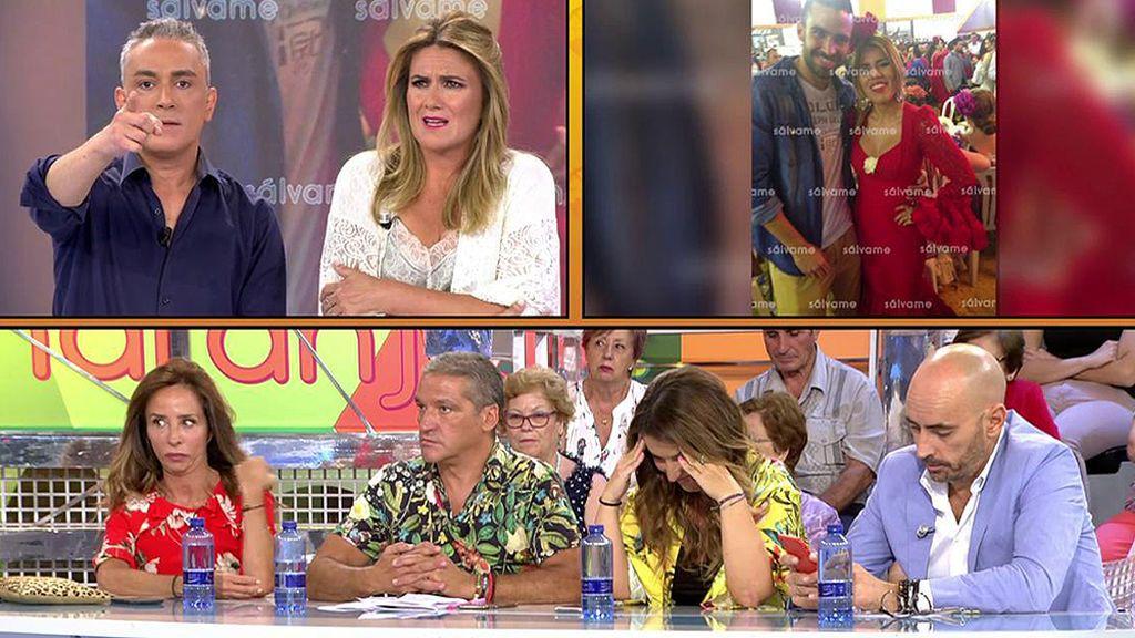 """Kiko Hernández, a Anabel Pantoja: """"La relación entre el guardia civil de La Manada y Chabelita viene por ti"""""""
